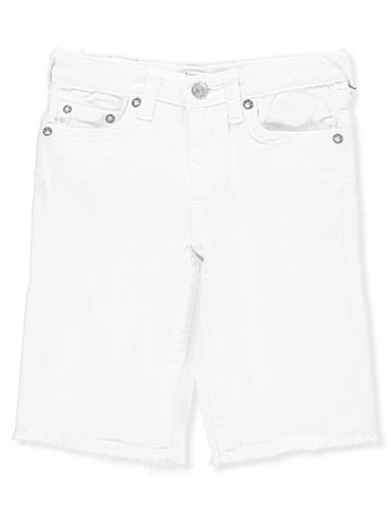 True Religion Girls' Cutoff Bermuda Shorts - CookiesKids.com