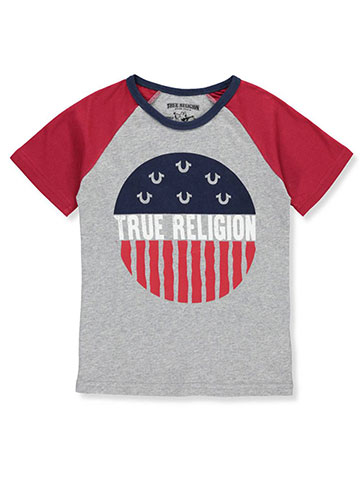 True Religion Boys' Raglan T-Shirt - CookiesKids.com