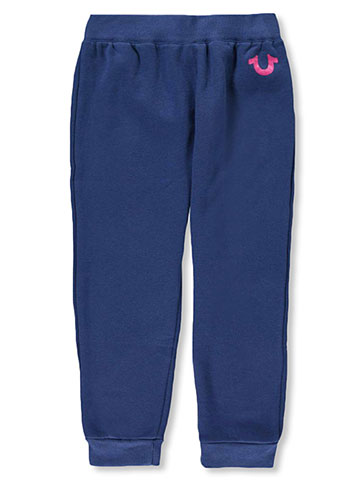 True Religion Girls' Fleece Joggers - CookiesKids.com