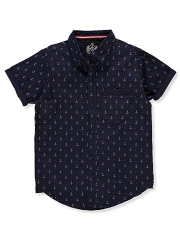 Silver Stone Boys' S/S Button-Down Shirt - CookiesKids.com