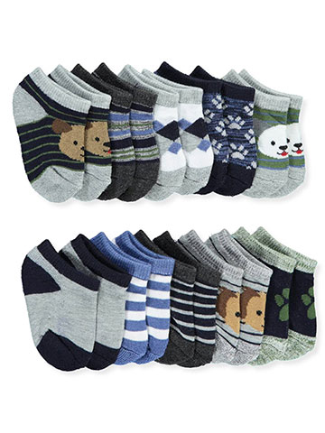 Tic Tac Toe Baby Boys' 10-Pack Socks - CookiesKids.com
