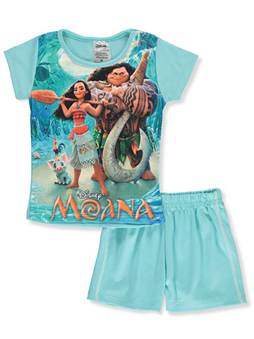 53061c91fa Disney Moana Girls  2-Piece Shorts Set Outfit