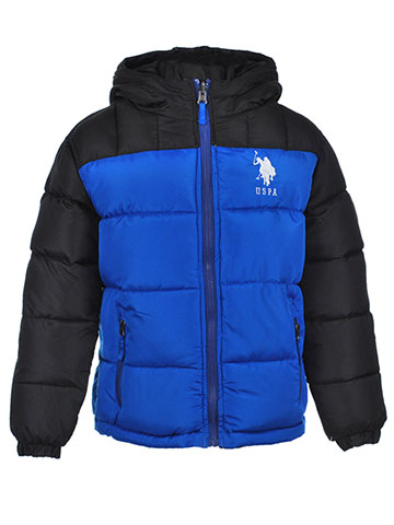 U.S. Polo Assn. Boys' Reversible Insulated Jacket - CookiesKids.com