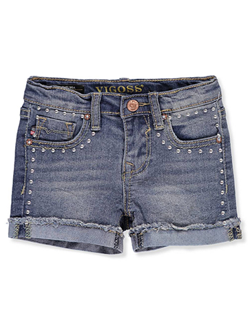 Vigoss Girls' Denim Shorts - CookiesKids.com