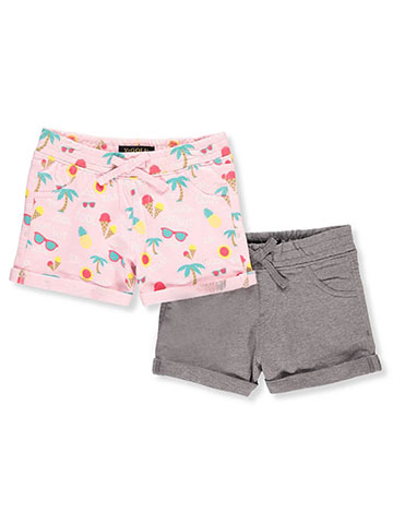 Vigoss Girls' 2-Pack Shorts - CookiesKids.com