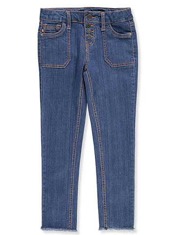 Vigoss Girls' Stretch Ankle Skinny Jeans - CookiesKids.com