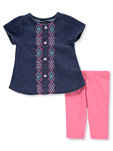 Limited Too Baby Girls' 2-Piece Leggings Set Outfit - CookiesKids.com