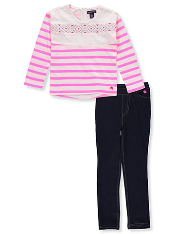 Limited Too Girls' 2-Piece Leggings Set Outfit - CookiesKids.com
