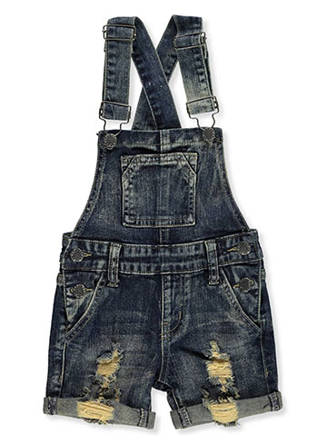 VIP Jeans Girls' Denim Shortalls - CookiesKids.com