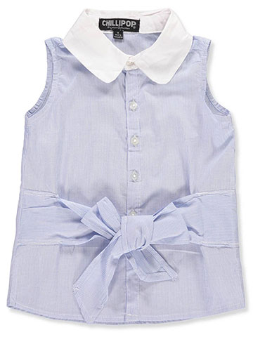 Chillipop Girls' Button-Down - CookiesKids.com