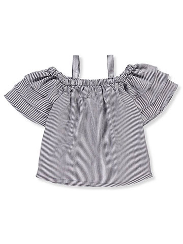 Chillipop Girls' Cold Shoulder Top - CookiesKids.com