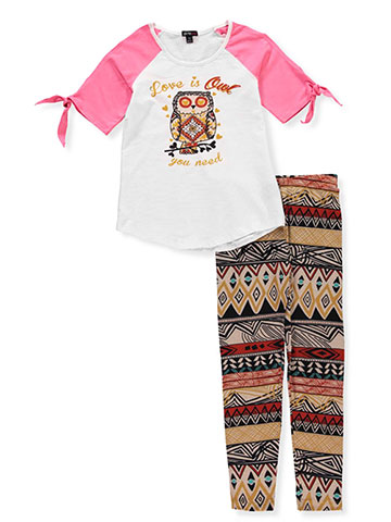 Girls Hearts Girls' 2-Piece Pants Set Outfit - CookiesKids.com