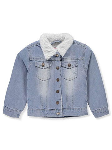 Chillipop Girls' Denim Jacket - CookiesKids.com