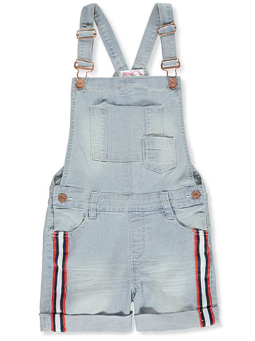 Chillipop Girls' Denim Overalls - CookiesKids.com