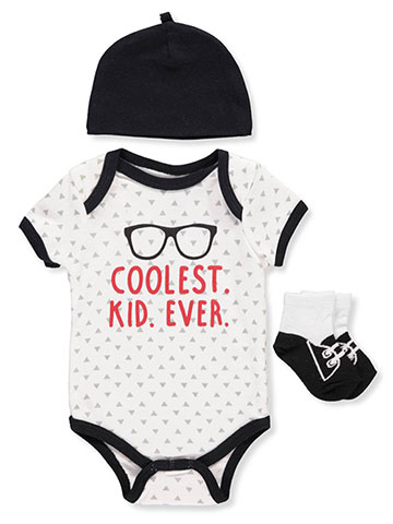 Weeplay Baby Boys' 3-Piece Layette Set - CookiesKids.com