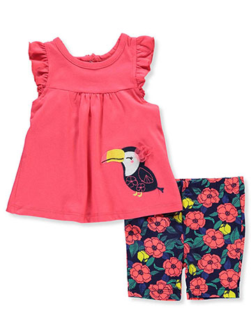 Buster Brown Baby Girls' 2-Piece Short Set Outfit - CookiesKids.com