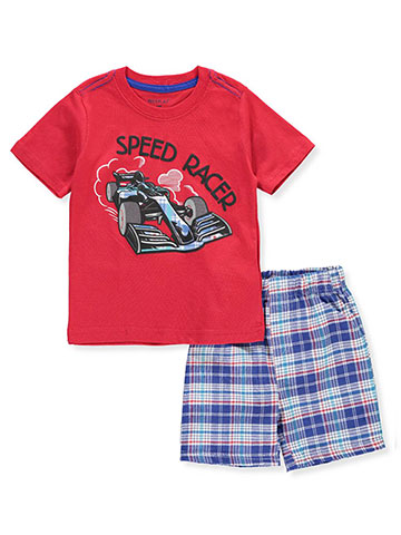 Weeplay Baby Boys' 2-Piece Short Set Outfit - CookiesKids.com