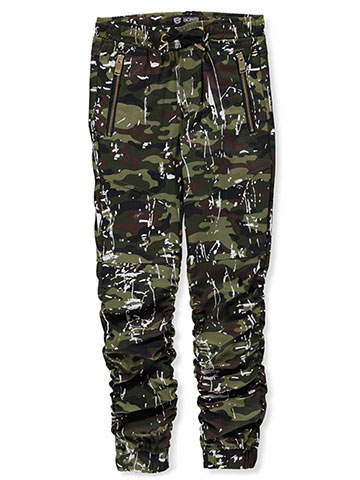 Encrypted Boys' Twill Joggers - CookiesKids.com